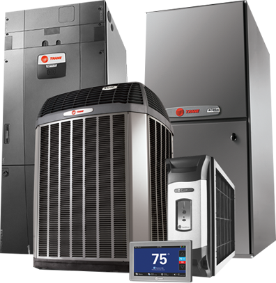 Trane HVAC package available from Dalco in Denver