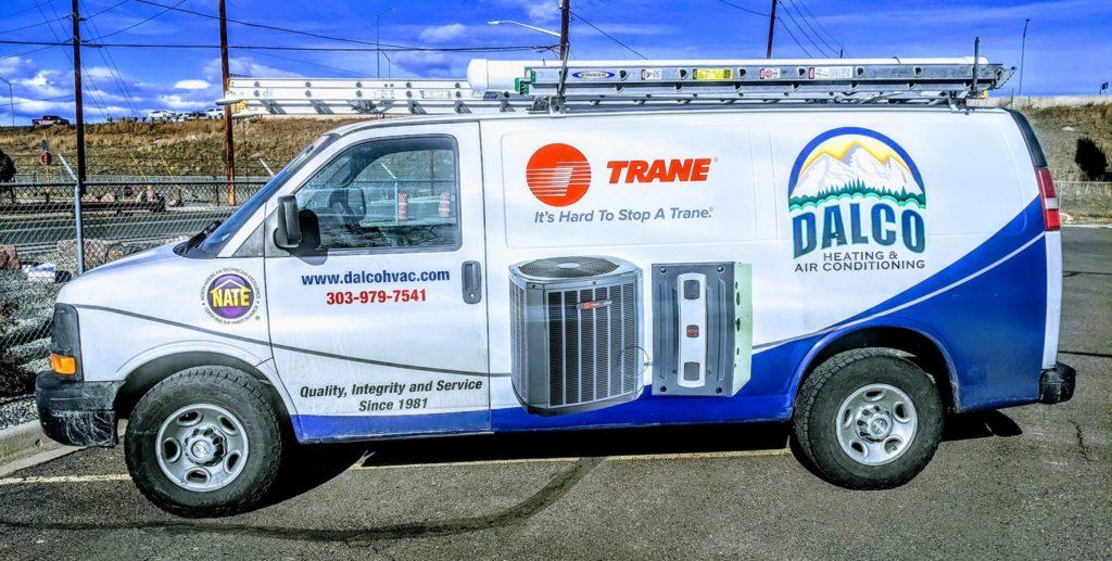 DALCO Heating & AC van