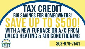 Tax Credit for new air conditioning or furnace installation