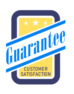 Customer Satisfaction Guarantee badge, promise from Dalco in Denver