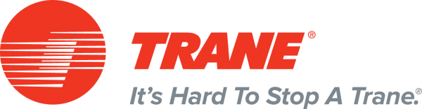 Trane brand of heating and cooling equipment logo