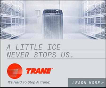 Trane AC testing Ice never stops us