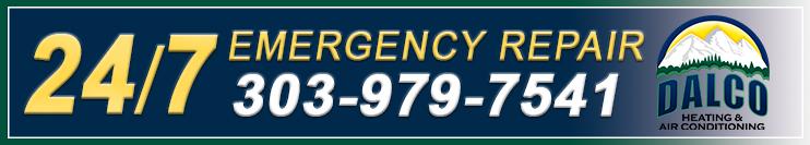24 7 emergency ac and furnace repair in Denver, CO