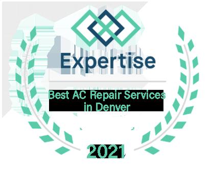 Denver's best AC repair award