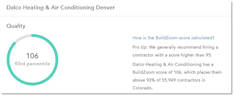 DALCO is licensed and certified for commercial and residential work across Denver